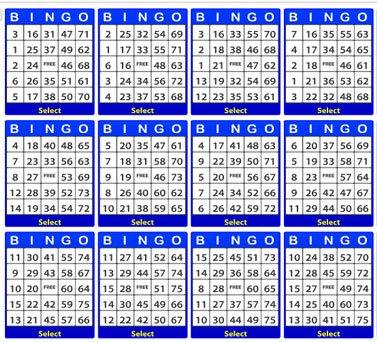 Online 75 ball Bingo